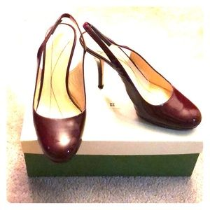 Kate Spade, size 8 ruby red shoes